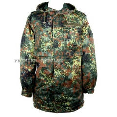 German Army Surplus Flektarn, Flecktarn Parka