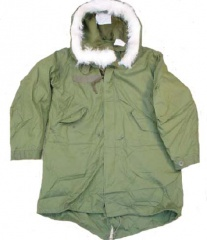 U.S. Army Surplus Arctic M65 Fishtail Parka from Premier Surplus ...