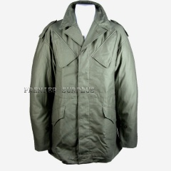Dutch Army Surplus Olive NATO Jacket