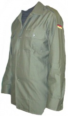 German Army Surplus Olive Green Shirt