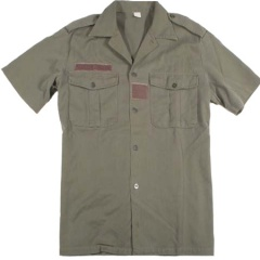 French Army Surplus Short Sleeve Shirt