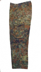 German Army Surplus Flektarn, Flecktarn Trousers, Pants