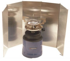 Aluminium 5 Sided Stove Windshield