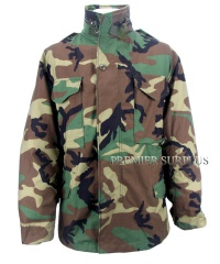 Genuine US Army Surplus M65 Woodland Camo Jacket, NEW