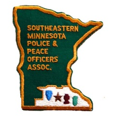 South Eastern Minnesota Police Association Patch Badge