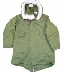 U.S. Army Surplus M65 Arctic Fishtail Parka