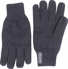 Black Thinsulate Thermal Lined Gloves