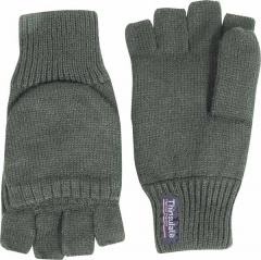 Olive Green Thinsulate Thermal Shooters Mitts