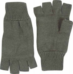 Olive Green Thinsulate Fingerless Gloves