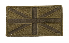 Subdued Olive Union Jack Cloth Patch