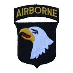 US Army 101st Airborne Screaming Eagle Cloth Patch