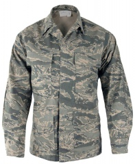 USAF ABU Airforce Tigerstripe Camo Shirt