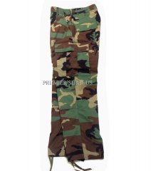 Genuine US Army Surplus Woodland M65 BDU Camo Trousers Pants New or Unissued