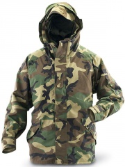 US Army Surplus Woodland Camo ECWCS Gortex Jacket New Condition