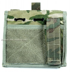 British Army Osprey MK4 MTP Commanders Pouch Admin Panel NEW