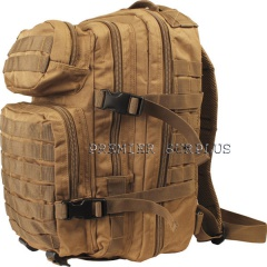 Coyote Tan 30 litre Molle Assault Pack Rucksack