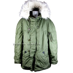 US Army Surplus N3B Arctic Parka