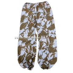 British Army Surplus Desert Camo Gortex Trousers Pants, NEW