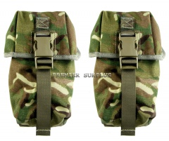 British Army Surplus MK 4 Osprey MTP Multicam Set of 2 Utility Pouch  NEW