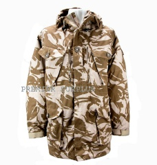 Genuine British Army Desert Camo Windproof Smock, NEW