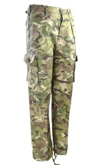 Kids Childrens British Army MTP Camo Trousers, Pants