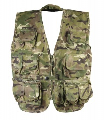 Kids Childrens  British Army MTP Multi-Pocket Tactical Vest