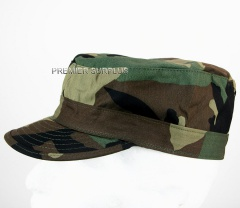 Genuine US Army Woodland Camo BDU Patrol Cap, NEW